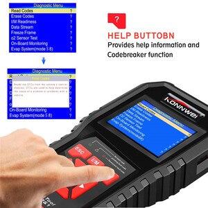 Image 4 - Escáner automotriz OBD OBD2 AL519 NT301 lector de código de Falla con herramienta de diagnóstico de coche ODB2 en varios idiomas escáner automático