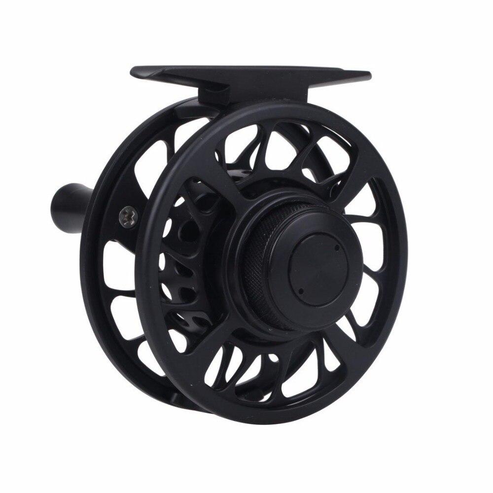 Aventik truite 3/4, 5/6 mouche bobine nouvelle vente carbone disque glisser avec contrôle fin de Double clic arrêt eau douce bobine spécial INTRODU