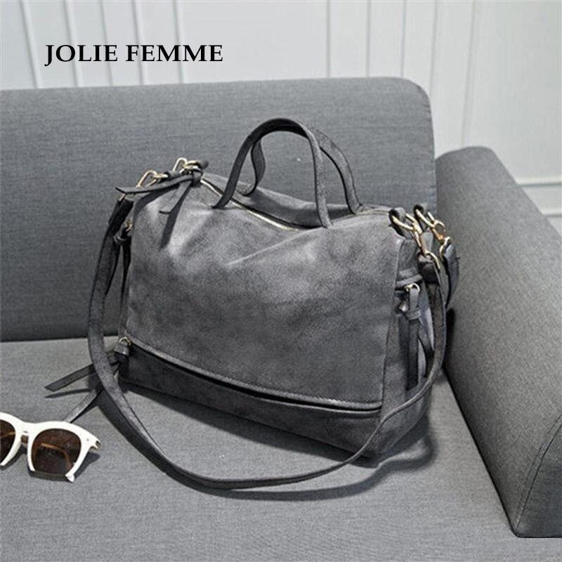 2017 New Women Bag designer handbags high quality Nubuck Leather Vintage Messeng