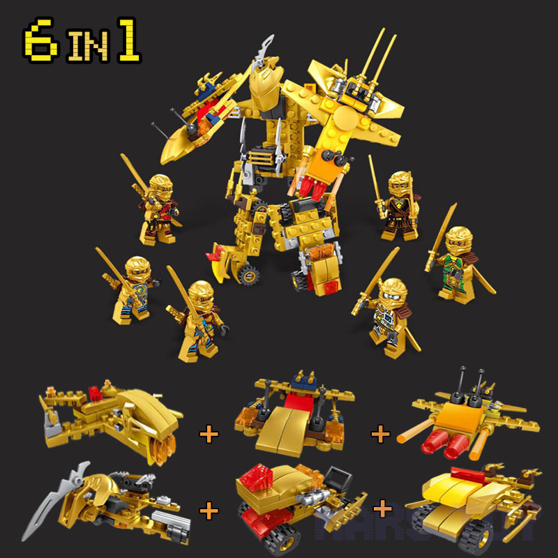 The Ninjagoes Movie Action Figures Set Ares Compatible LegoINGlys Lepins Gift For Kids Friends NinjagoINGlys Toy 6In1 spinning flying ninja movie gyros zane cole nya lloyd action figures building toys gifts compatible legoinglys ninjagoinglys