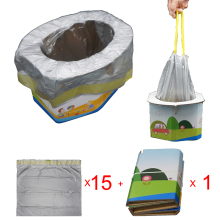 Портативный дорожный горшок для детей-детский складывающийся горшок стул для девочки или мальчика