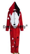 Batman Harley Quinn Red Pajama Cosplay Costume F006