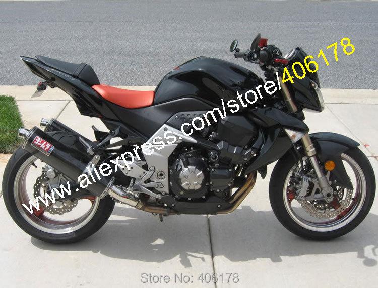 Горячие продаж,черный обвес для Кавасаки z1000 2007 2008 2009 году Z 1000 07 08 09 послепродажного мотоцикла ABS обтекатель комплект кузова