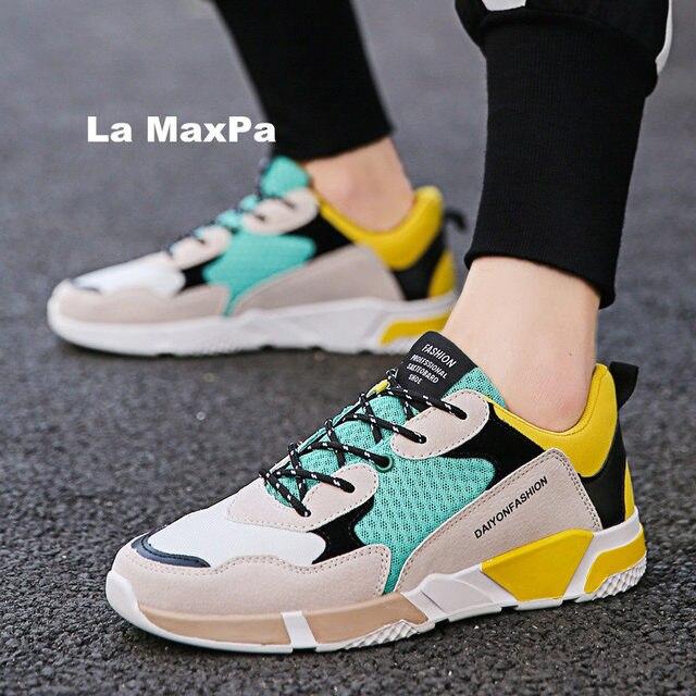 683204f07d851 Breathable flat summer sneakers men mesh running shoes men Brand sport  Trainers vapormax arena zapatillas hombre deportiva