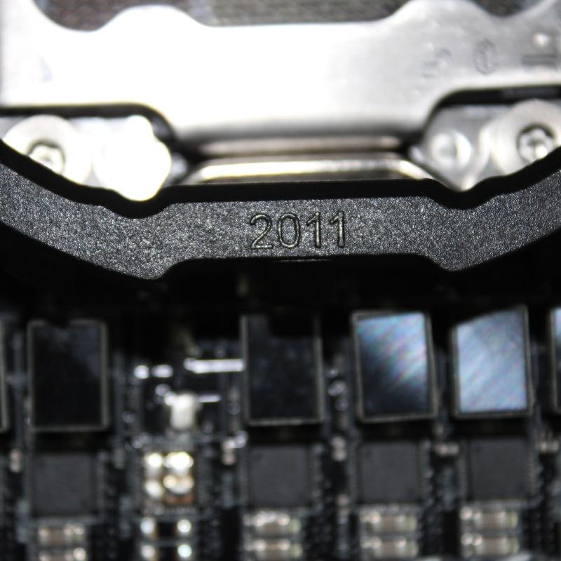 for intel lga 2011 cpu cooler bracket motherboard socket 2011 cpu intall mount plastic stents frame 4