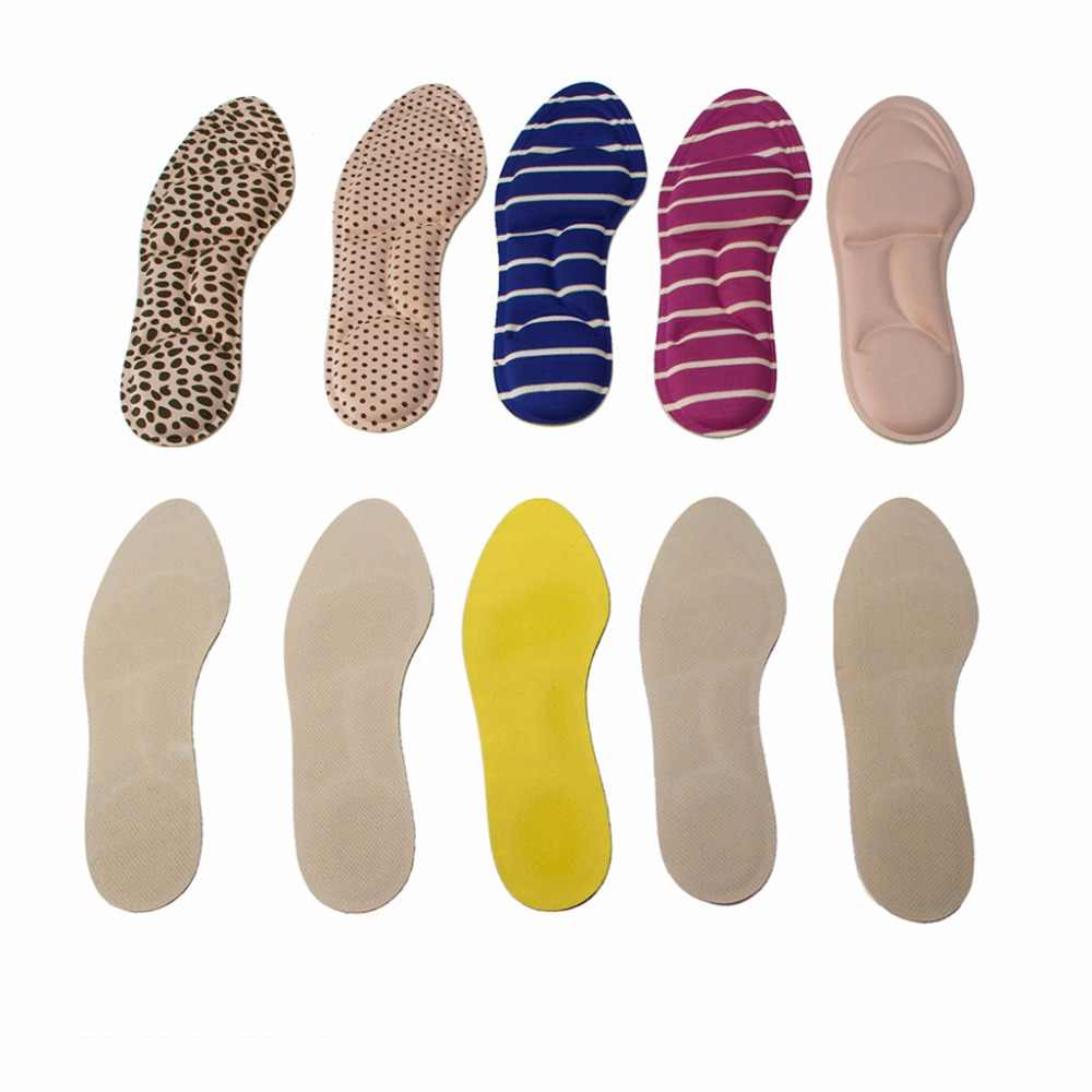 חדש 1 זוג יוניסקס 4D קצף Custom עיסוי מדרסי נעלי מאמן רגל טיפול נשים גברים חדש