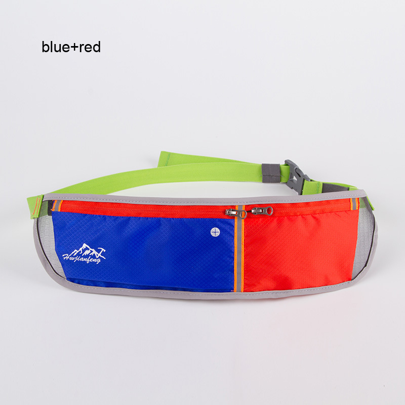 Hot2017 Outdoor Sport Accessories GYM Double bag design Fitness Running Waist Nylon waterproof Cycling Bag Mountaineering