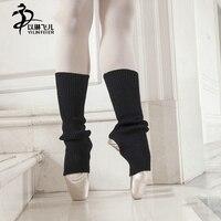 Dành cho người lớn ấm nhảy múa ba lê xà cạp đen con màu hồng khiêu vũ thời trang xà cạp socks shorts leg warmer cotton bước thiết k