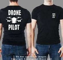 2019 Funny Drone Pilot Dji Mavic Short Sleeve Double Side T Shirt Unisex Tee