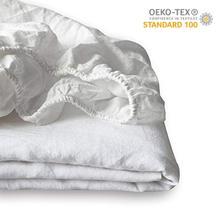 FreeShipping 100% Pure Linen  Fitted Sheet Pillowcase for Queen  King Size цена в Москве и Питере