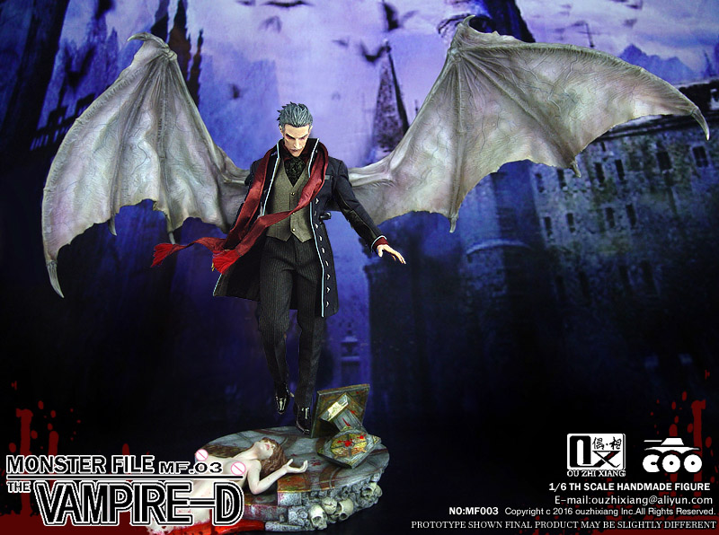 1/6 scale figure doll Collectible model devil Monster File seires 3 Vampire Dracula 12 action figures doll plastic toy american vampire vol 3