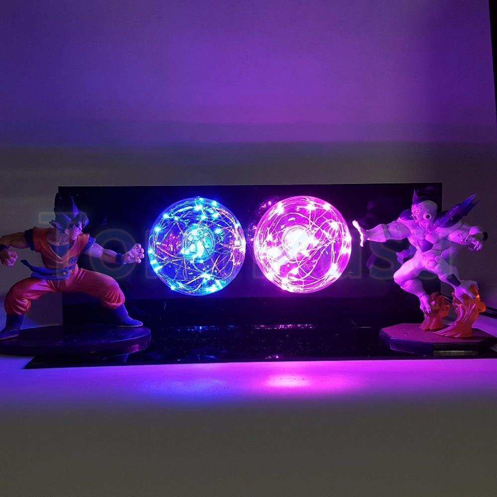 Здесь продается  Dragon Ball Z Action Figure  Son Goku VS FreezaSuper Saiyan Flash Ball DIY Display Set Dragonball Goku Flighting Ver. DBZ DIY170  Игрушки и Хобби