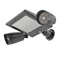 Sensore esterno A Doppia Testa di Sicurezza Solare di Movimento Proiettore Lampada della Luce di Pannello