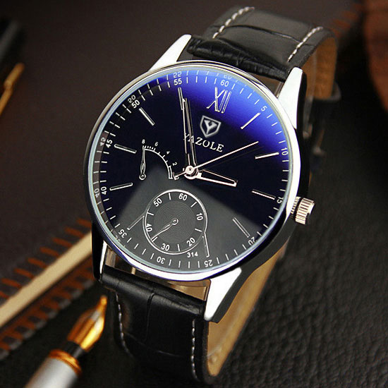 YAZOLE Quartz Watch Men 2017 Fashion Mens Watches Top Brand Luxury Famous Wrist Watch Male Clock Hodinky Relogio Masculino