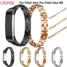 For Fitbit Alta smart watch frontier/classic single row denim chain replacement strap HR wristband accessories