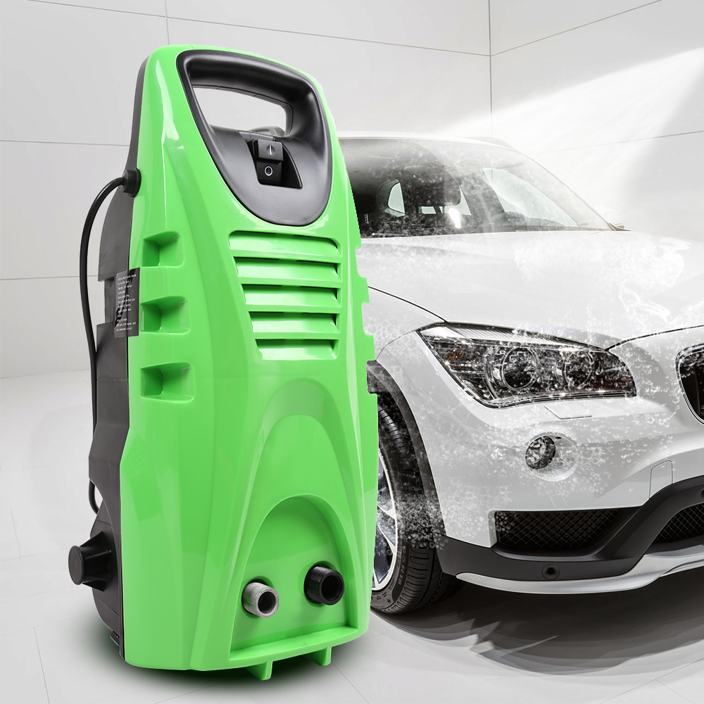 цена на Portable Electric High Pressure Car Washer 2030PSi Garden Cleaning Machine 1800W with Power Hose Nozzle High Pressure Gun