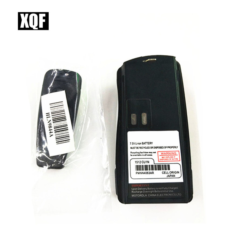 XQF 1800mAh Li-ion Battery For MOTOROLA CP125 GP2000 PRO2150 Walkie Talkie