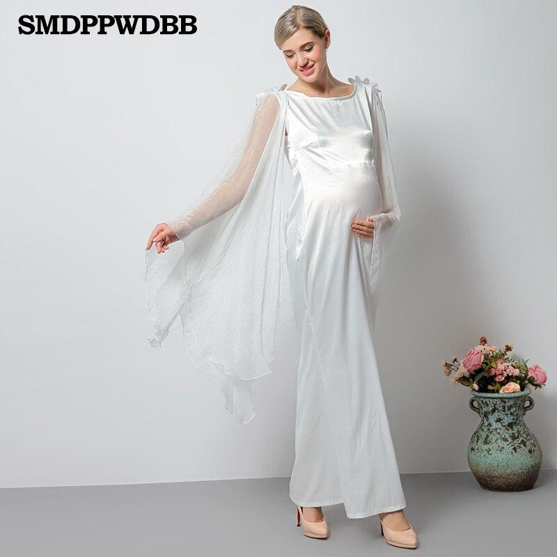 Erfreut Weiß Mutterschaft Brautjungfer Kleid Bilder - Brautkleider ...
