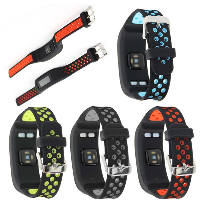 OOTDTY Replacement Silicone Watch Strap with Repair Tool For Garmin Vivosmart HR Bracelet Wath Band Smart Wearable Accessories