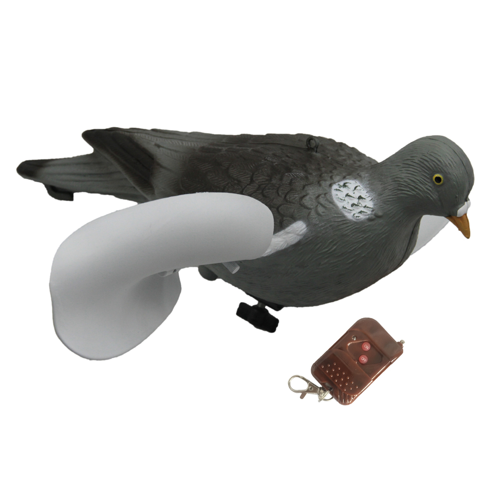 GUGULUZA Remote Control Motorized Painted Pigeon Decoy For Hunting (Big  Discount Christmas Sale 2019)