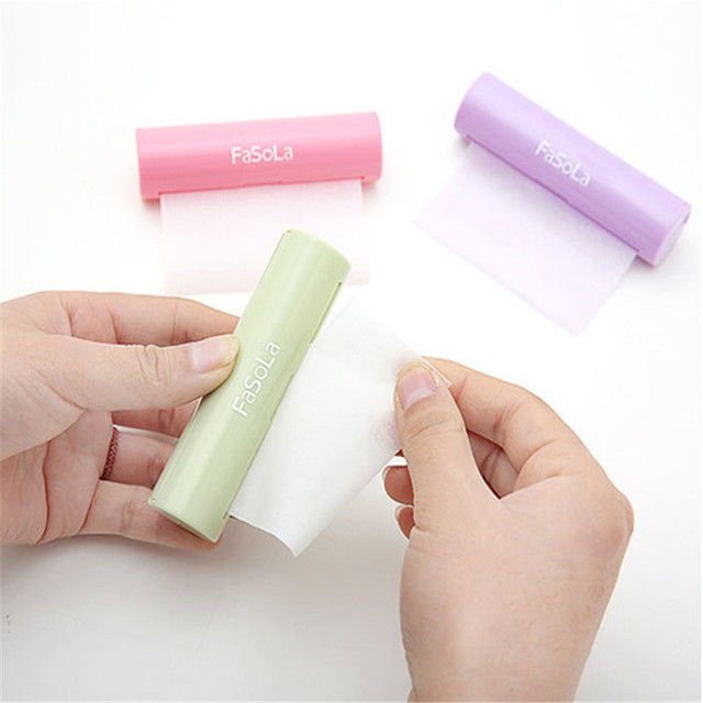 Luckyfine Portable 1.2m Paper Soap Outdoor Hand Washing Bath Scented Slice Sheets Foaming Box Paper Bathing Tools 5