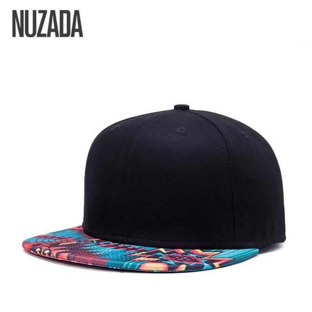 f00719f6974 Brand NUZADA Unique Design Baseball Cap For Women Men Bone Printing Pattern  Caps Cotton Popular Street