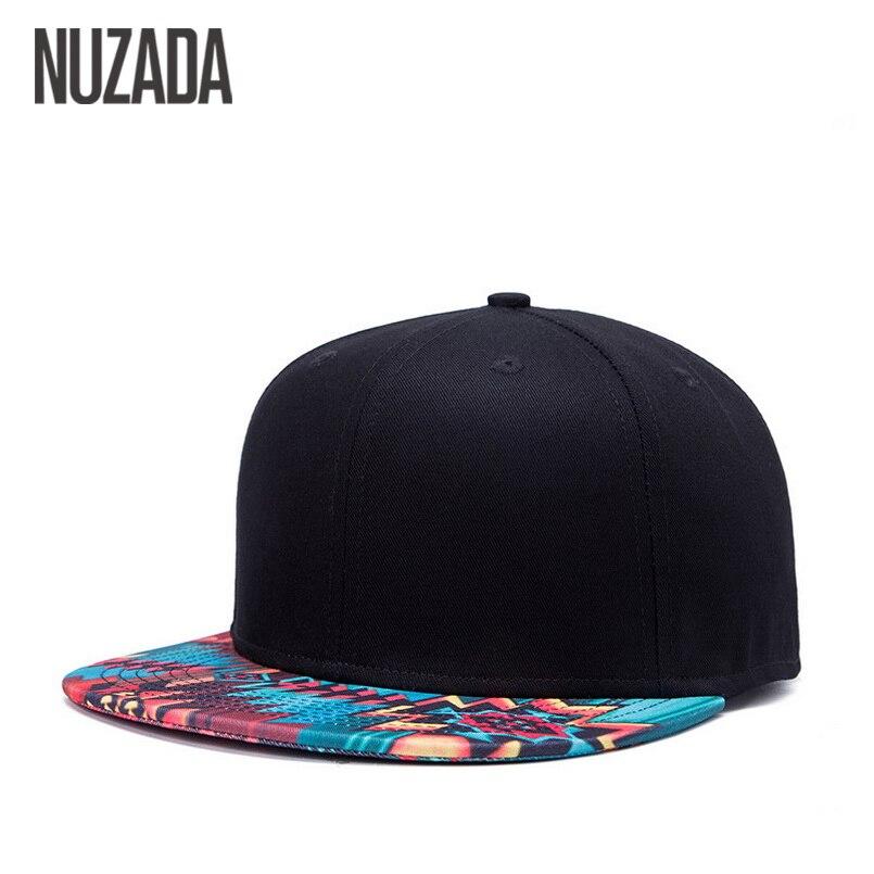 Marca nuzada diseño único gorra de béisbol para las mujeres hombres hueso  impresión patrón gorras algodón popular arte de la calle sombreros SnapBack 17eb068feb0