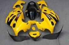 ABS Желтый черный Обтекатели, установленные для SUZUKI GSX600F GSX750F 96 03 06 GSX600 750F Katana GSXF600 1996 2003 2006 Обтекатель комплект YD11