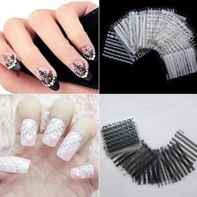 Beauty Girl 30 Sheets 3D Lace Nail Art Stickers DIY Tips Decal Manicure Tools Oct 18