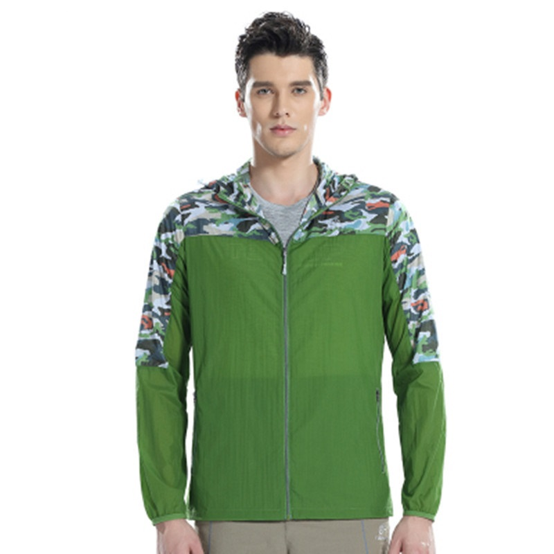 adc2bb34e270 Spring Summer Outdoor Sport Sun Protection Quick dry Men Skin ...