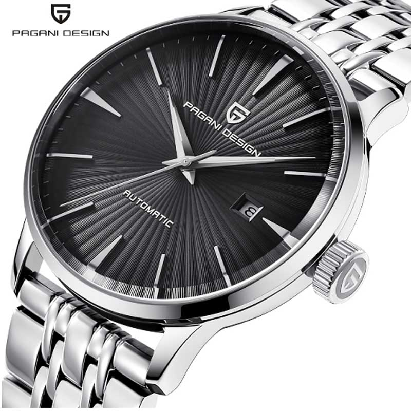 PAGANI DESIGN New Mens Watches Top Luxury Mechanical Watches Waterproof 30M Steel Stainless Fashion Casual Automatic WatchPAGANI DESIGN New Mens Watches Top Luxury Mechanical Watches Waterproof 30M Steel Stainless Fashion Casual Automatic Watch
