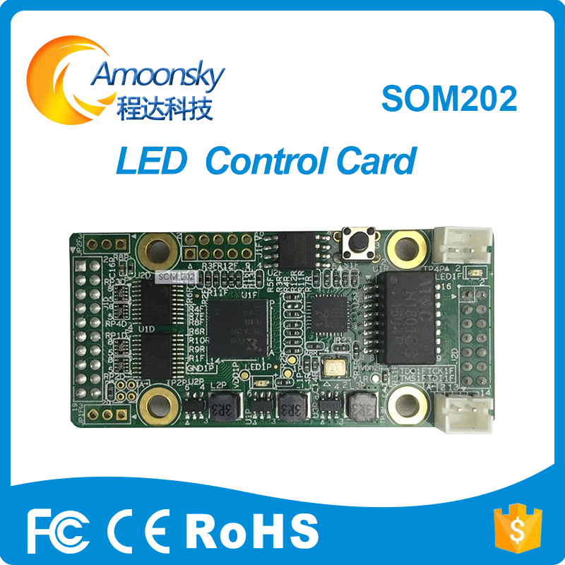 Linsn SOM202 Receiver Card Linsn Control Card For Full Color Smd Led Panel Display Module Card Som202 For Original Factory
