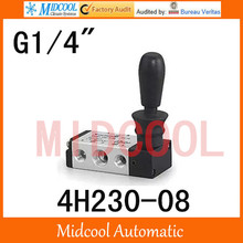 High quality hand-Pull valve manual valve SHAKO port 1/4″ 4H230-08 control Manual valve