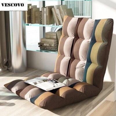 Folding Sofa Bed Furniture Living Room Modern Lazy Sofa Floor Bay Window Sofa Chair Adjustab Sleeping
