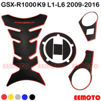 Motorcycle Tank Pad Triple Tree Top Clamp Upper Front End Decals Stickers For Suzuki GSXR 1000 K9 K10 09 10 11 12 13 14 15 16
