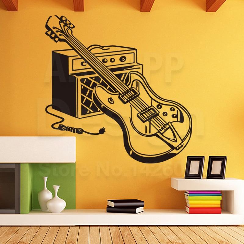92+ Guitar Home Decor Guitar Home Decor - Rock And Roll With Guitar ...
