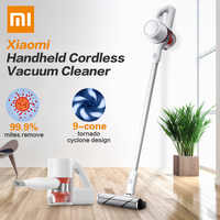 NEW 2019 Xiaomi Mijia Handheld Vacuum Cleaner 23000Pa Cordless Home Car Household Wireless Aspirador 9 Cyclone Suction Device