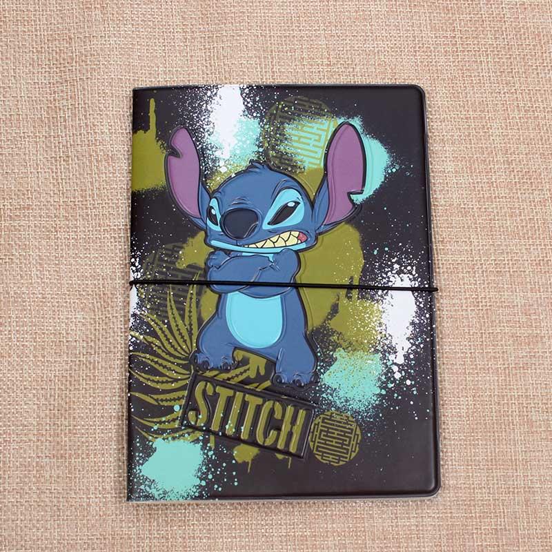 Creative Lilo Stitch Passport Holders Men/women Travel Passport Cover Bag Pvc Leather 3D Design Cover On The Passport For Travel