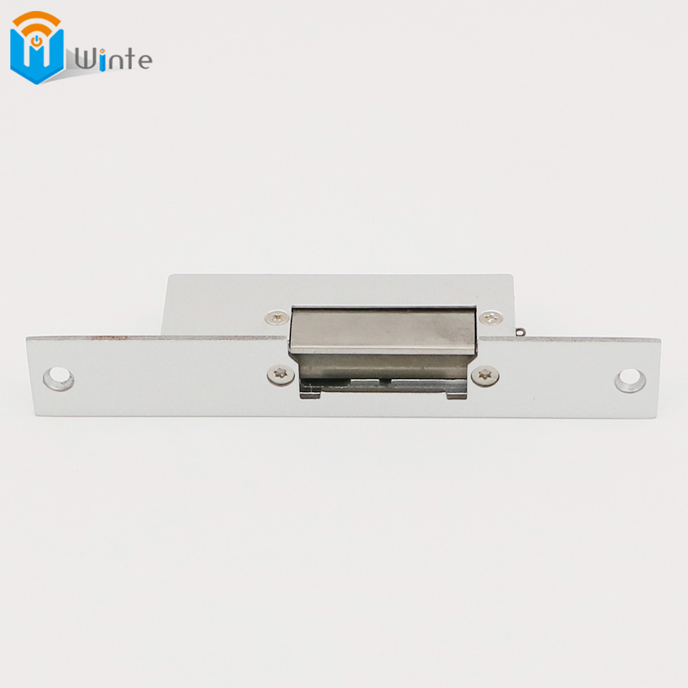 Door  Electric Strike Lock  Aluminum face plate fail safe NC type 12VDC  RFID Electric Access Control sytem  DouWin access control electric strike lock nc standard type electric strike yli ys132no fail safe strike lock high quality
