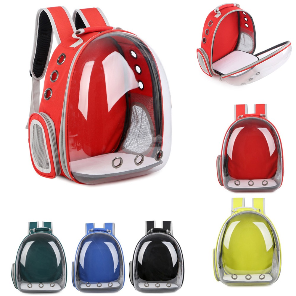 Unique and attractive Outdoor Travel Cat Dog Space Capsule Carrier Backpack Pet Carrier Air Holes Waterproof Lightweight Bag