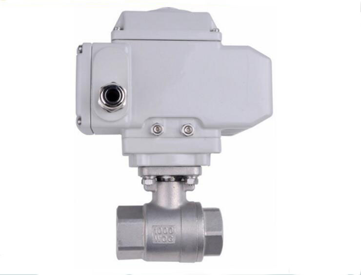 1 inch 2pcs pneumatic kind air water stainless steel material electric ball valve 1 2 built side inlet floating ball valve automatic water level control valve for water tank f water tank water tower