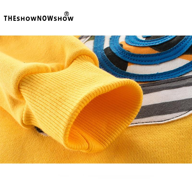 3-8 Years Animal Printed Sweatshirts For Girls 2018 Spring New Sweatshirt For A Boy Cartoon long Sleeve O-Neck Children Clothing