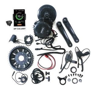 Image 3 - Bafang 8Fun BBSHD Motor Central de tracción media 48V 1000W Kits de Ebike con conectores de Sensor de luz y engranaje, luz de 6V incluida