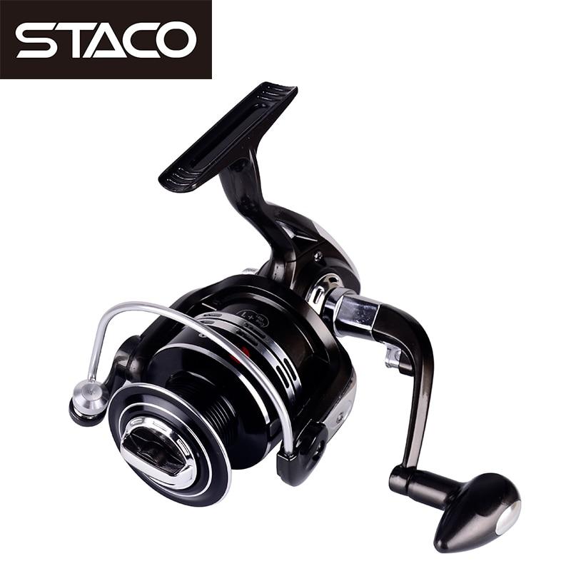 STACO 11BB Metal Spinning Fishing Reel 5.2:1/4.9:1 Jigging Reel Saltwater Seat Ocean Boat Fishing Stream Reel For Fishing