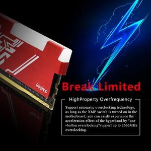 Image 5 - Reeinno RGB RAM DDR4 8GB Tần Số 2666MHz 1.2V 288pin PC4 19200 CL = 19 19 19  43 Cho Máy Tính Game RAM Bảo Hành Trọn Đời Máy Tính Để Bàn Bộ Nhớ