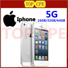 Iphone 5 100% Factory Unlocked original Apple Iphone 5 Cell phone 16GB/32GB/64GB IOS 4.0 inch  in Sealed box Free Ship