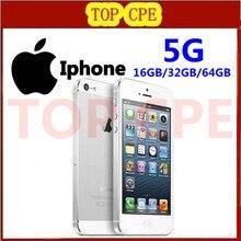 Iphone 5 100% Factory Unlocked оригинальный Apple Iphone 5 Сотовый телефон 16 ГБ/32 ГБ/64 ГБ IOS 4.0 дюймов в Запечатанных коробка Свободный Корабль(China (Mainland))