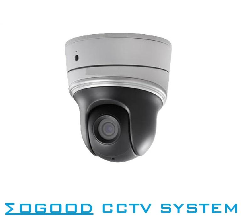 цена на Hikvision Original DS-2DC2106IW-D3 1.3MP/960P Mini PTZ IP Camera 3-18mm 6X Zoom With IR 30M DC12V Support ONVIF /SD Card Slot