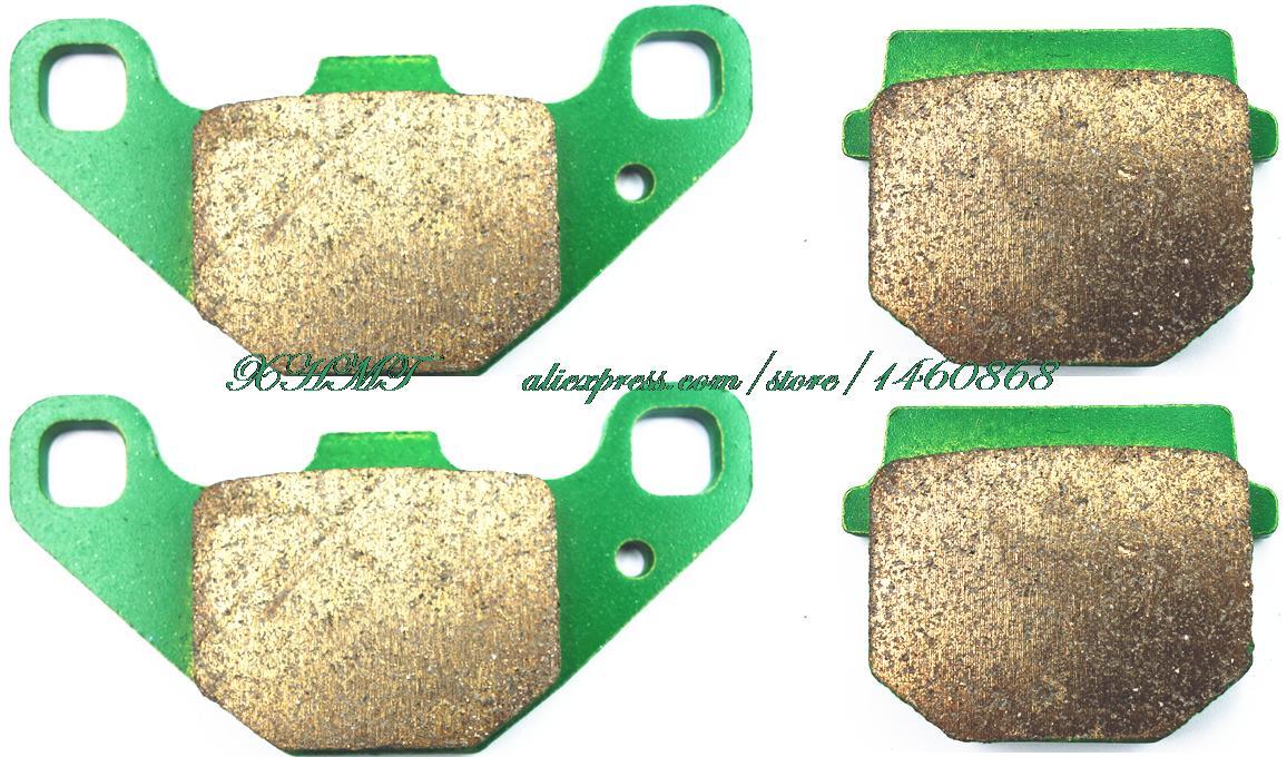 Brake Shoe Pads Set For Yamaha Atv Yfm90 Yfm 90 R Raptor ( No Rear Parking Brake ) 2009 2009