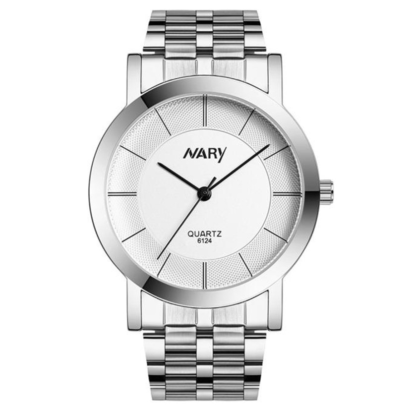 Nary Women Wrist Watches Simple and Fashion Waterproof Single Quartz Stainless Refined Steel  my15 adjustable wrist and forearm splint external fixed support wrist brace fixing orthosisfit for men and women